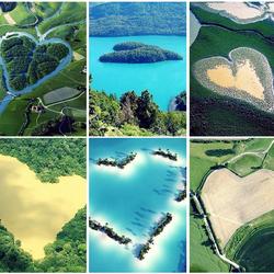 Пазл онлайн: Сердце земли