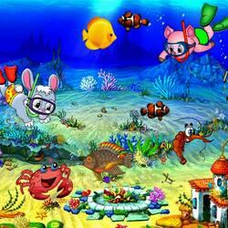 Пазл онлайн: Путешествие в подводное царство