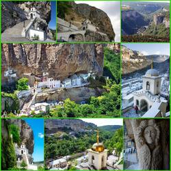 Пазл онлайн: Свято-Успенский пещерный монастырь