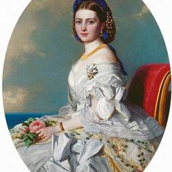 Пазл онлайн: Принцесса Виктория Аделаида Мария Луиза