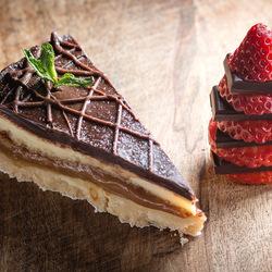 Пазл онлайн: Кусочек тортика
