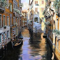 Пазл онлайн: Столько света в Венеции