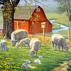 Пазл онлайн: Весной