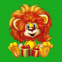 Пазл онлайн: Львёнок