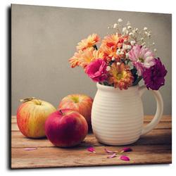 Пазл онлайн: Цветочно-яблочный