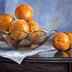 Пазл онлайн: Апельсинки