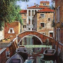 Пазл онлайн: Отражение Венеции