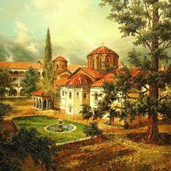 Пазл онлайн: Болгария. Бачковский монастырь