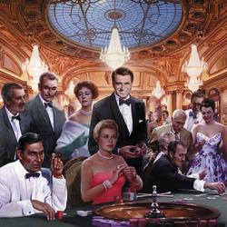 Пазл онлайн: Казино Монте Карло
