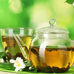 Пазл онлайн: Зелёный чай