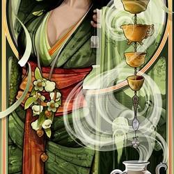 Пазл онлайн:  Богиня чая
