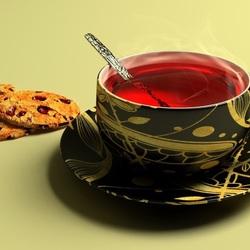 Пазл онлайн: Чашка чая