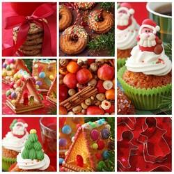Пазл онлайн: Рождественское угощение