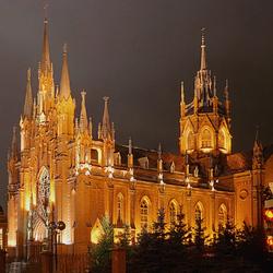 Пазл онлайн: Собор Непорочного Зачатия Пресвятой Девы Марии