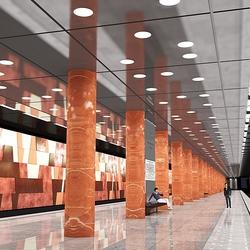 Пазл онлайн: Московское метро