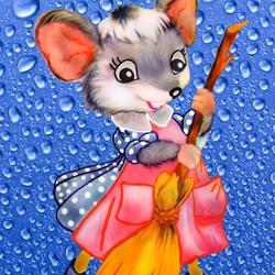 Пазл онлайн: Домовитая мышь
