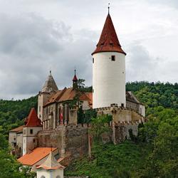 Пазл онлайн: Замок Крживоклат