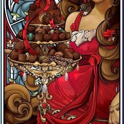 Пазл онлайн:  Богиня шоколада