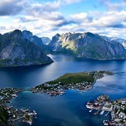 Пазл онлайн: Лофотенские острова