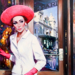 Пазл онлайн: Дамы Монте Карло