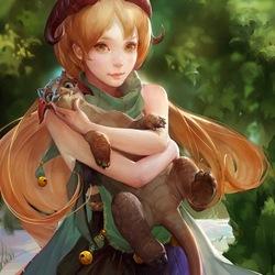 Пазл онлайн: Адора, дева-дракон