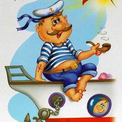 Пазл онлайн: Профессии.Моряк