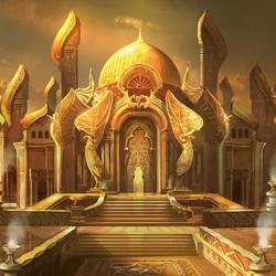 Пазл онлайн: Золотой дворец