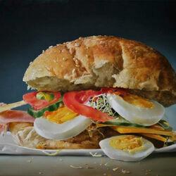 Пазл онлайн: Суперсэндвич
