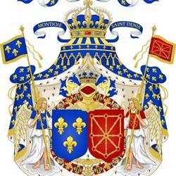 Пазл онлайн: Герб Королевства Франции