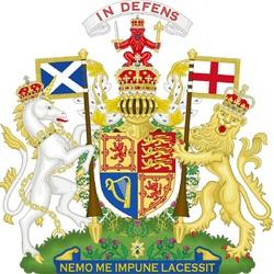 Пазл онлайн: Королевский герб Королевства Шотландии