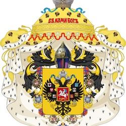 Пазл онлайн: Герб Российской Империи 1883 год