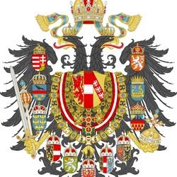 Пазл онлайн: Герб Австро-Венгерской Империи
