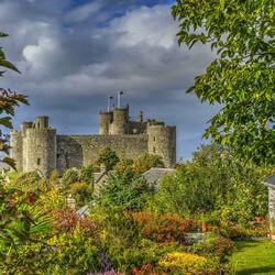 Пазл онлайн: Замок Харлек