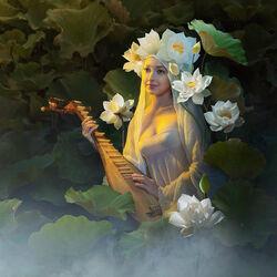 Пазл онлайн: Песня лотоса