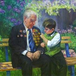 Пазл онлайн: Дедушкины ордена
