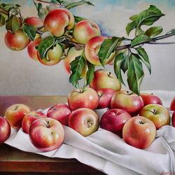 Пазл онлайн: Спелые яблоки