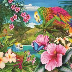 Пазл онлайн: Райская земля