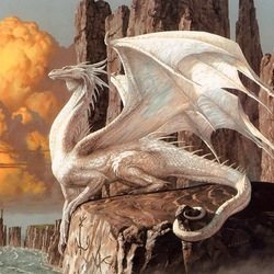Пазл онлайн: Умаротх - белый дракон