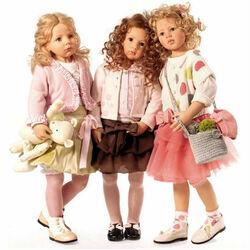 Пазл онлайн: Энн-Катрин, Сафира и Фэй