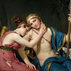 Пазл онлайн:  Прощание Телемаха и Эвхариды