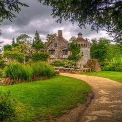 Пазл онлайн: Замок Скотни