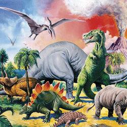 Пазл онлайн: Доисторический мир 3