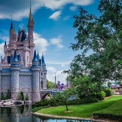 Пазл онлайн: Замок Золушки