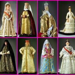 Пазл онлайн: Российская история в миниатюре