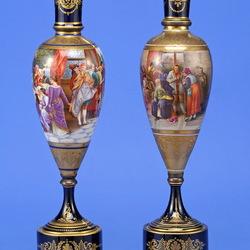 Пазл онлайн: Антикварные вазы