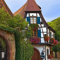 Пазл онлайн: Дом в Кайзерсберге