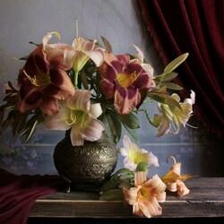 Пазл онлайн: Цветы запоздалые
