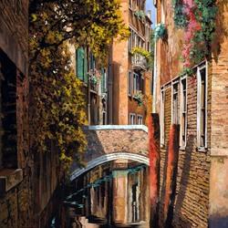 Пазл онлайн: Осень в Венеции