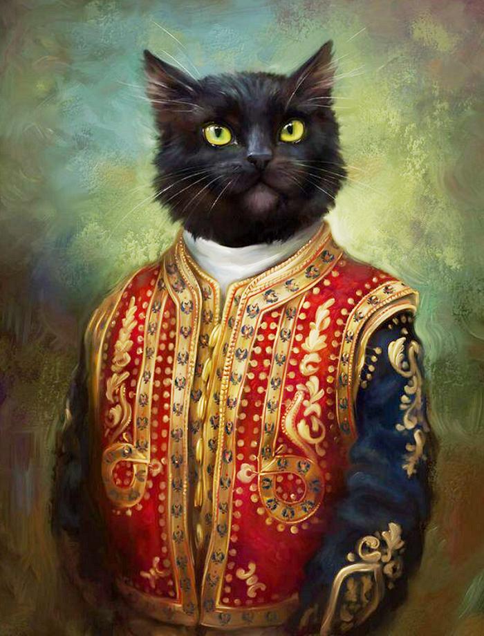 Коты эрмитажа открытки