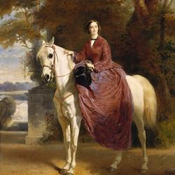 Пазл онлайн: Евгения, императрица Франции